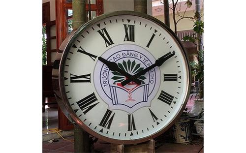 Đồng hồ có chuông nhạc điểm giờ cho trường học